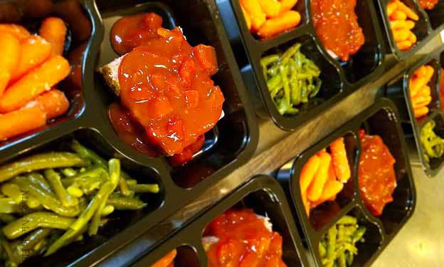 Picture of Prepared Meals Ready for Delivery